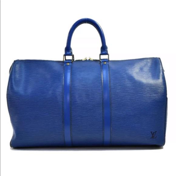 Louis Vuitton Handbags - LOUIS VUITTON Epi Keepall 45 Travel Bag